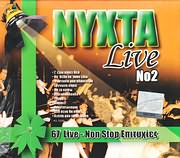 CD image NYHTA LIVE NO.2 - 67 LIVE NON STOP EPITYHIES - (VARIOUS) (2 CD)
