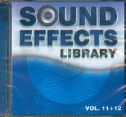 CD image SOUND EFFECTS LIBRARY / VOL 11 - 12 (2CD)