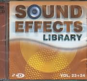 CD image SOUND EFFECTS LIBRARY / VOL 23 - 24 (2CD)