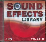 CD image SOUND EFFECTS LIBRARY / VOL 35 - 36 (2CD)