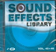 CD image SOUND EFFECTS LIBRARY / VOL 45 - 46 (2CD)