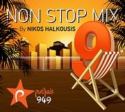CD image ΡΥΘΜΟΣ 949 - NON STOP MIX 9 BY NIKOS HALKOUSIS - (VARIOUS)