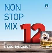 CD image NON STOP MIX VOL.12 BY NIKOS HALKOUSIS - (VARIOUS)