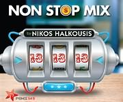 CD image NON STOP MIX VOL.13 BY NIKOS HALKOUSIS - (VARIOUS)