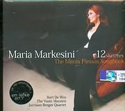 CD image MIMIS PLESSAS - MARIA MARKESINI - BART DE WIN THE VASTE MANNEN JURRIAAN BERGER QUARTET / 12 SKETCHES