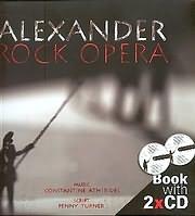 ALEXANDER ROCK OPERA - ALEXNDROS / MOUSIKI: KONSTANTINOS ATHYRIDIS - KEIMENO: PENNY TURNER (BOOK + 2 CD)