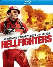 DVD VIDEO image BLU - RAY / THE HELLFIGHTERS - OI FLOGES TIS KOLASEOSOI (JOHN WAYNE, KATHARINE ROSS, JIM HUTTON)