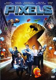 CD image for PIXELS - (DVD VIDEO)