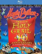 CD Image for BLU - RAY / MONTY PYTHON AND THE HOLY GRAIL (40TH ANNIVERSARY DELUXE EDITION)