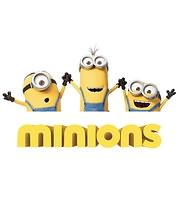 CD image for 9 MINI - TAINIES APO TA DVD / BD TON BLOCKBUSTERS: MINIONS, EGO O APAISIOTATOS 1 KAI 2 - (DVD VIDEO)