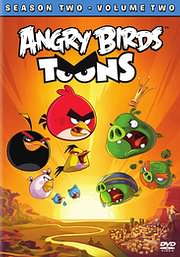 CD image for ANGRY BIRDS SEASON 2 VOLUME 2 (ANGRY BIRDS SEASON 2 VOLUME 2) - (DVD VIDEO)