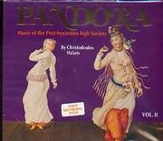 CD image HRISTODOULOS HALARIS / PANDORA II - ASTIKI METABYZANTINE KOSMIKI MOUSIKI