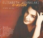 CD image ELISABETH KOUNALAKI - ELISSAVET KOUNALAKI / E - MOTION - PIANO WORKS (2CD)