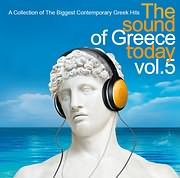 CD image THE SOUND OF GREECE TODAY VOL.5 - (VARIOUS)