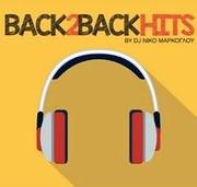 CD image BACK 2 BACK HITS BY DJ NIKO MARKOGLOU - (VARIOUS)
