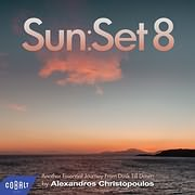 CD image SUN:SET 8 BY ALEXANDROS CHRISTOPOULOS - (VARIOUS) (2 CD)