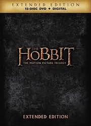 CD Image for THE HOBBIT TRILOGY EXTENDED EDITION (15 DISCS) - (DVD VIDEO)
