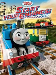 CD image for TOMAS TO TRENAKI: ANAPSTE TIS MIHANES (THOMAS AND FRIENDS: START YOUR ENGINES) - (DVD)
