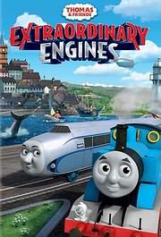 DVD image TOMAS TO TRENAKI: TA APISTEYTA TRENAKIA (THOMAS AND FRIENDS: EXTRAORDINARY ENGINES) - (DVD)