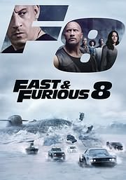 FAST AND FURIOUS 8: MAHITES TON DROMON - THE FATE OF THE FURIOUS - (DVD)