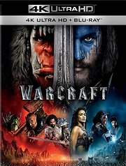 CD Image for BLU - RAY / WARCRAFT 4K (2BD)