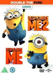 DVD: EGO O APAISIOTATOS 1 KAI 2 - DESPICABLE ME 1 + 2 (2DVD) - (DVD) [5212011403861]