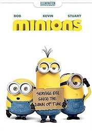 CD Image for MINIONS - (DVD)
