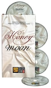 CD image HONEYMOON - (VARIOUS) (4 CD)