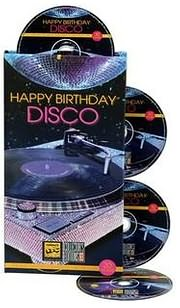 CD image HAPPY BIRTHDAY DISCO - (VARIOUS) (4 CD)