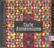 CD image for ΡΙΑ ΓΕΩΡΓΙΑΔΟΥ / FLUTE DIMENSIONS - NEW MUSIC FOR FLUTE