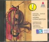 CD image HAYDN - DANZI - ROSETTI / HORN CONCERTOS
