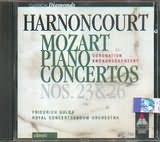 CD image MOZART / PIANO CONCERTOS Nos.23 AND 26