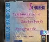 CD image SCHUBERT / SYMPHONY No.8 - ZAUBERHARFE - ROSA
