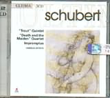 CD image SCHUBERT / TROUT QUINTET - DEATH AND THE M