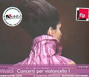 CD image VIVALDI / CONCERTI PER VIOLONCELLO I / COIN - ANTONINI