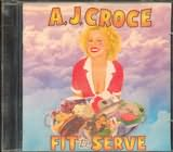 CD image A.J.CROCE / FIT TO SERVE