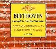 CD image BEETHOVEN / COMPLETE VIOLIN SONATAS - HUDSON VIOLIN - VERNEY FORTEPIANO (4CD)