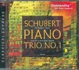CD image SCHUBERT / PIANO TRIO NO.1 OP.99 / THE MOZARTEAN PLAYERS