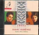 CD image ALBENIZ / GUITAR WORKS / KATONA TWINS