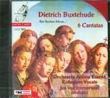 CD image BUXTEHUDE / 6 CANTATAS - EIN STARKEN MUSIC / ANIMA ETERNA - IMMERSEEL