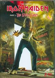 DVD image THE HISTORY OF IRON MAIDEN - PART 1 - THEEAARLY DAYS - (2DVD)
