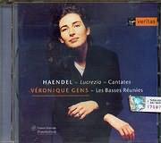 CD image HANDEL / CANTATAS LA LUCREZIA - ARMIDA / GENS - LES BASSES REUNIES