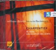 CD image CHARPENTIER / TE DEUM / GRAND OFFICE DES MORTS / WILLIAM CHRISTIE
