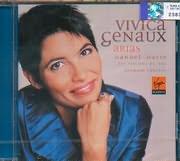 CD image VIVICA GENAUX / ARIAS / HANDEL HASSE / LES VIOLONS DU ROY BERNARD LABADIE
