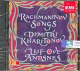 CD image RACHMANINOV / SONGS FOR BARITONE / KHARITONOV - ANDSNES