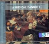CD image A MUSICAL BANQUET / MUSIC BY SCHEIN - SCHEIDT - GABRIELI / JORDI SAVALL (2CD)