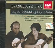 EVANGELOS AND LIZA / <br>PLAY THE FANDANGO BY A.SOLER