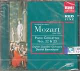 CD image MOZART / BARENBOIM / PIANO CTO NOS 22...