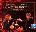 CD image MIKIS THEODORAKIS - GIANNIS KOTSIRAS / AXION ESTI - PNEYMATIKO EMVATIRIO - FERTIS - FORTI - KOULOUBIS