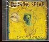 CD image BURNING SPEAR / RASTA BUSINESS